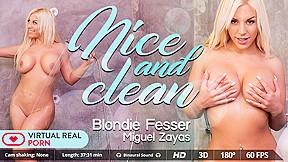 Blondie fesser miguel zayas and clean virtualrealporn...