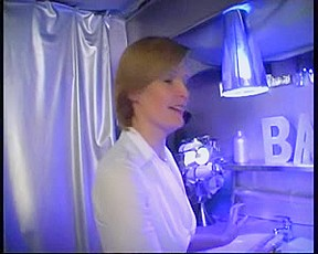 anal with bar woman golden-haired troia culo