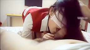 Chinese flight attendant creampie...