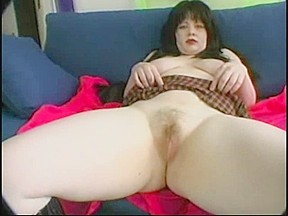 Overweight Obese GF with Large Pantoons masturbate her Shaggy Cookie