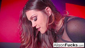 Alison Tyler  Jessica Jaymes in Red Room And Red Strap-On Action - AlisonTyler