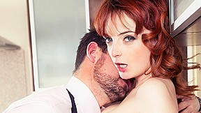 Housewife Lola Gatsby Drains Cum In The Kitchen - Private