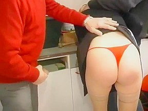Horny redhead maid will be drilled hard...