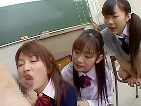 Crazy japanese whore in horny scene...