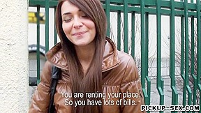 Alexis brill gets pursuaded money...