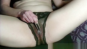 Sopping with contracting and pulsating orgasms...
