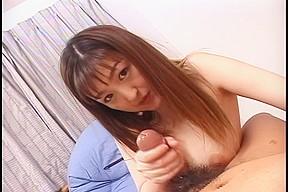 Japanese cutie Cook Jerking -Yuuki Amagi