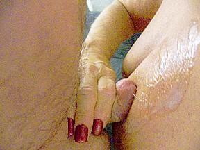 Hand Job....Cum on Wobblers