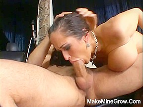 Large Breasts Playgirl Do A Tit Fucking And Drilled In The Gazoo