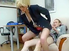 Granny secretary getting fucked cumshot...