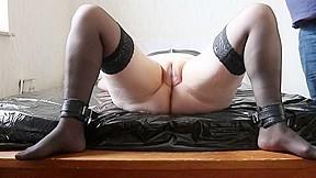 Pussy spank...