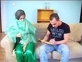 Arab muslim hijab hotty oral 5 nv...