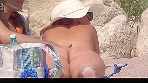Nude beach couples...