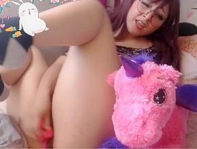 2 34 sexy pussy juice her dildo...