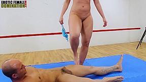 Femdom goddess faccesitting mixed wrestling...