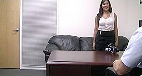Asian interview office...
