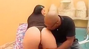 Nice chubby butt babe used by black man...