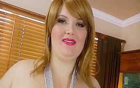 Sexy big beautiful woman Red Hair