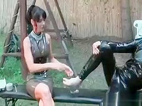 Sexy Carmen In Hard-core Bdsm Action