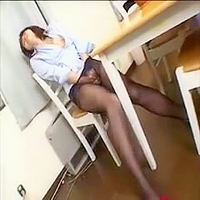 Big breasted oriental her aching...