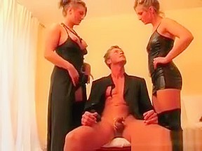 Action with two sexy...
