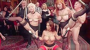 Slaves in partial suspensions party...