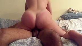 And end with cum in her ass balcony...