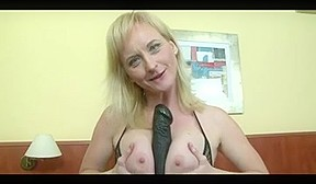 Interracial blonde...