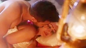 Puja bose kissing scene...