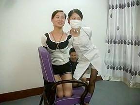 Chinese couple in bondage...