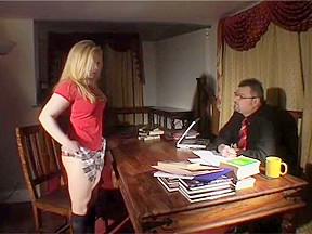 Schoolgirl submission spanking...