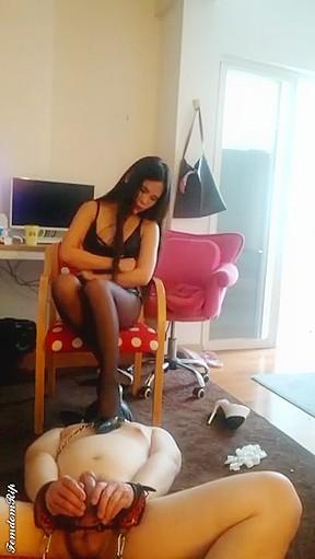 Asian fetish hd femdom straight video...