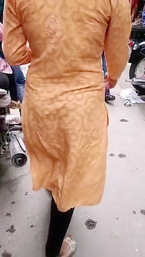 Indian beautiful with very walking...