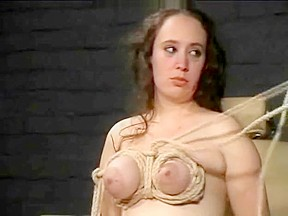 Breast torture and extreme bondage of english bbw...