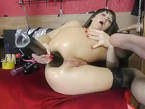 Fist slut wrecks and juicy rosebud...
