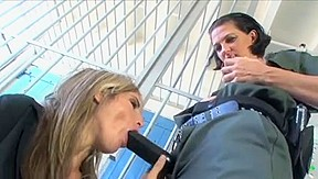 Lesbian Prison Guard with Female Inmate