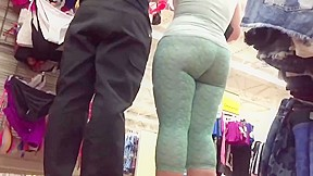 Perfect in spandex...
