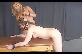 Big fanny girl tortured in kinky video...
