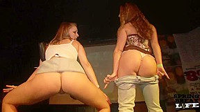Thong contest here in tampa springbreaklife...