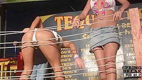Spring Break Wet T-Shirt Contest with Wild Girls on Stage - SpringbreakLife