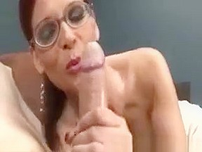 Horny Milf Wants A Handfull Of His Dick And Balls For