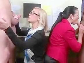 Horny teachers blow well hung co teachers...