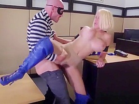 Blonde vixen pussy drilled...