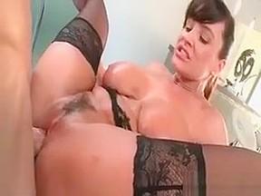 Slutty milf in huge boobs cock...