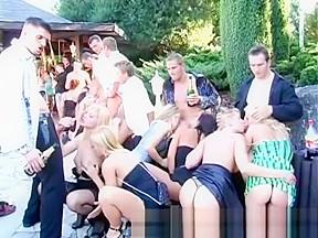 Drunk sex orgy...