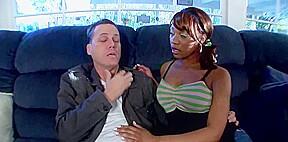 busty black girl gangbang and bukkake