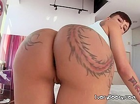 Sensual Chick Gets Her Big Tatted Booty Licked