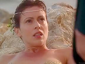 Alyssa Milano - Charmed S05E01-02 (2002)