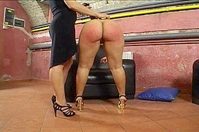 Her Large Round Moist Butt Acquires Spanked!!!!!!!