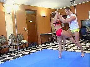 Ex gymnast sara part 2...